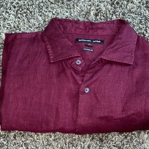 Michael Kors Button down long sleeve shirt